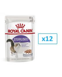 ROYAL CANIN sterilised Pástétom 12x85g