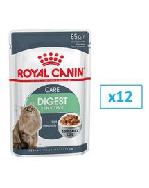 ROYAL CANIN Digest SENSITIVE mártásban 85 g x 12