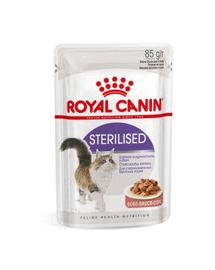 ROYAL CANIN sterilised mártásban 12 x 85g