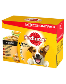 PEDIGREE Íz mix 48 x 100g