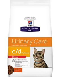 HILL'S Prescription Diet Feline c-d Multicare Urinary Stress 4 kg