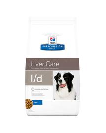 HILL'S Prescription Diet l/d Canine 12 kg