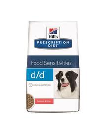 HILL'S Prescription Diet Canine d-d Salmon - Rice 2 kg