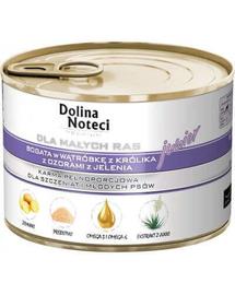 DOLINA NOTECI Prémium Junior nyúl májjal és őz nyelvvel 0,1 kg