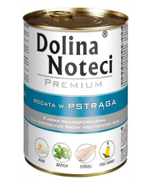 DOLINA NOTECI Prémium eledel pisztránggal 150g