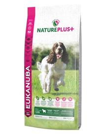 EUKANUBA Nature Plus+ Adult Medium Breed Rich in freshly frozen Lamb 2,3 kg