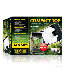 EXOTERRA Lámpatest Compact Top NANO 20x9x15cm