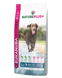 EUKANUBA Nature Plus+ Adult Large Breed Rich in freshly frozen Salmon 10 kg