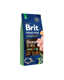 BRIT Premium By Nature Junior Extra Large 15 kg