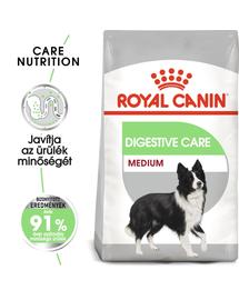 ROYAL CANIN MEDIUM DIGESTIVE CARE - száraz táp érzékeny emésztésű, közepes testű felnőtt kutyák részére 3 kg