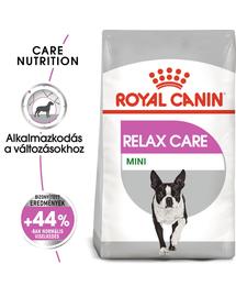 ROYAL CANIN MINI RELAX CARE - száraz táp felnőtt kistestű kutyák részére, segít a változásokhoz történő alkalmazkodásban 8 kg
