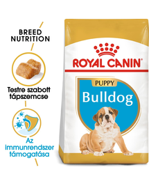 ROYAL CANIN BULLDOG JUNIOR - Angol Bulldog kölyök kutya száraz táp 3 kg
