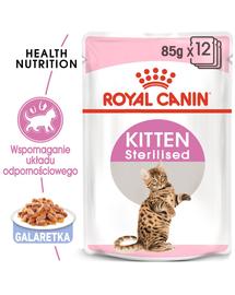 ROYAL CANIN Kitten Sterilised gravy 12 x 85 g