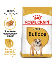ROYAL CANIN BULLDOG ADULT - Angol Bulldog felnőtt kutya száraz táp 3 kg