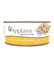 APPLAWS macska konzerv 156 g csirkemell
