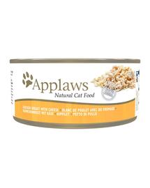APPLAWS Konzerv macskáknak csirke és sajt 156 g
