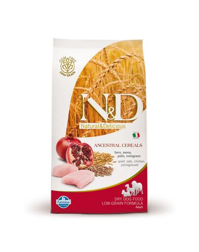 FARMINA Farmina n-d low-grain kutya csirke + gránátalma 2,5 kg